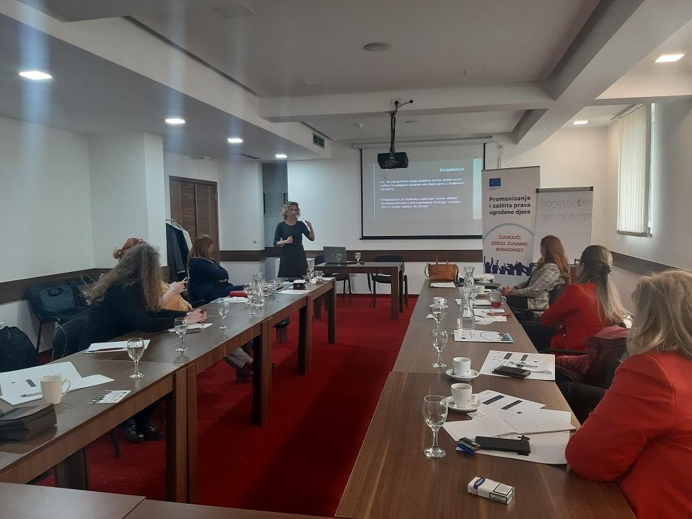Prof. dr Ivana Zečević je ukazala na negativne psihičke posljedice koje neadekvatno izvještavanje ostavlja na djecu
