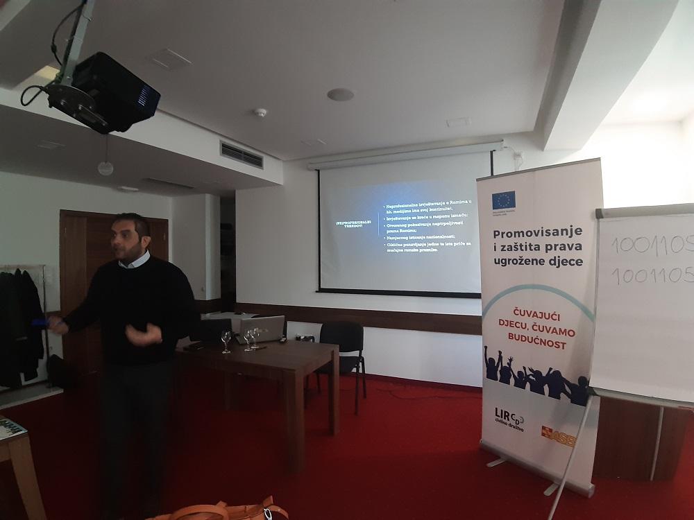 Dalibor Taniće je govorio o izvještavanju o Romima