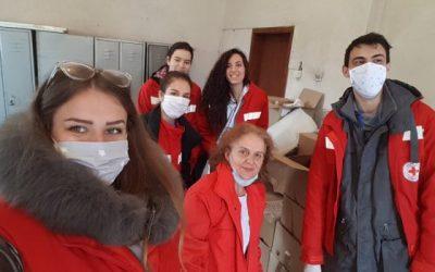 Covid 19, Uduženje žena Priroda: Volonteri na terenu
