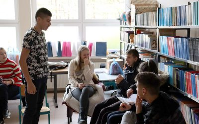 Workshops with highschool students
